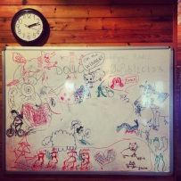 The Ever Changing White Board #2