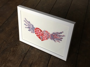 Winged Heart I Framed