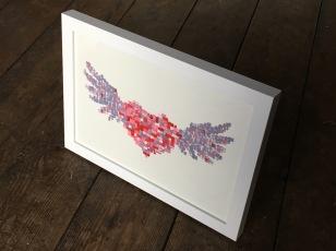 Winged Heart II Framed