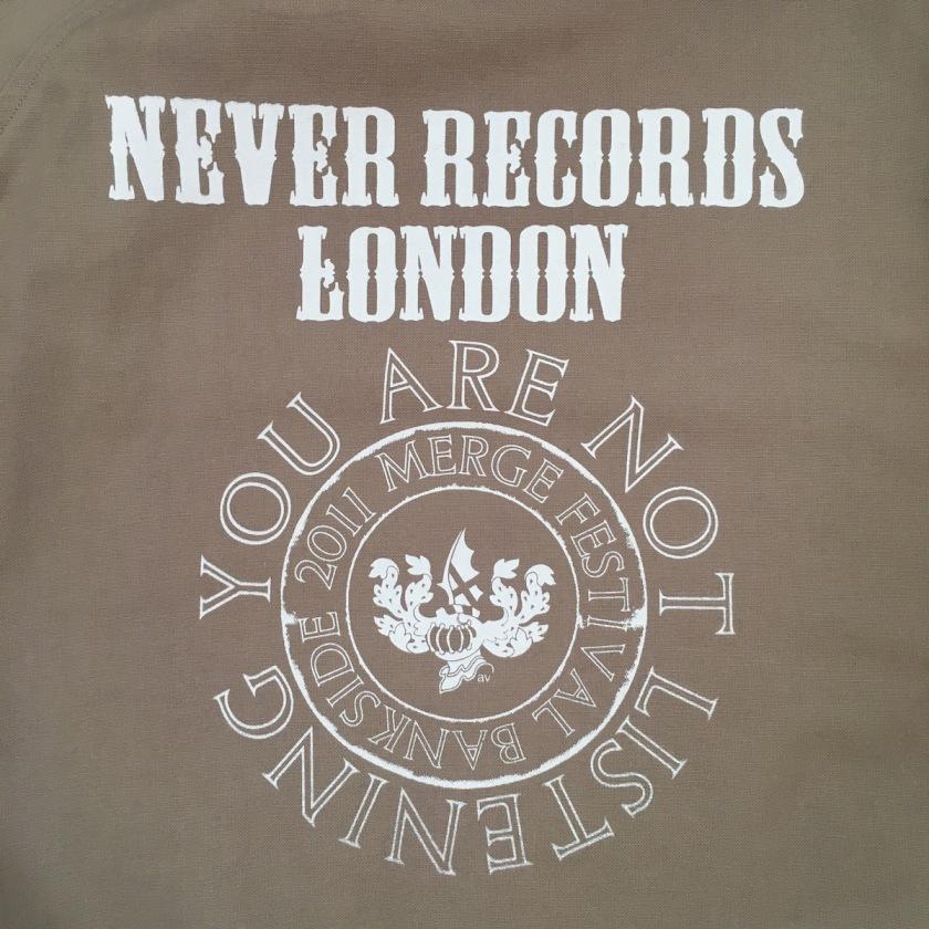 Never Records logo